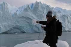 agnes meyer-brandis working at perito moreno